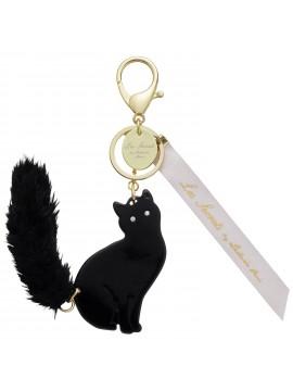 Key Holder Lovely Cat Black -  Les Secrets by Ladurée Paris