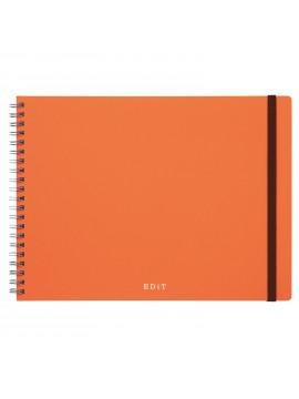Landscape Notebook + Sticky Notes Set Orange - Ideation EDiT