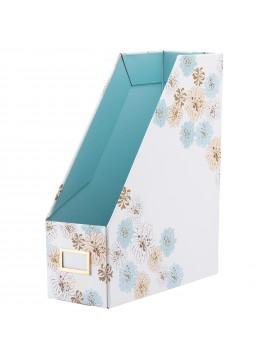 File Box Chrysanthemum White - PAUL & JOE La Papeterie