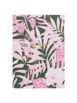 Notebook A6 Tropical Jungle - PAUL & JOE La Papeterie