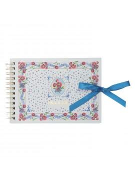 Spiral Landscape Notebook A6 Scarf Motif - PAUL & JOE La Papeterie