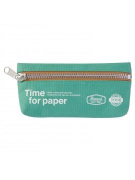 Pen Case rectangular Mint - Time for paper