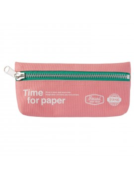 Pen Case rectangular Light Pink - Time for paper