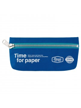 Pen Case rectangular Blue - Time for paper