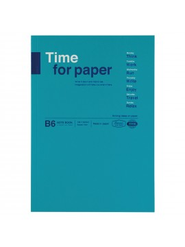 Notebook Flexible B6 Turquoise - Time for paper