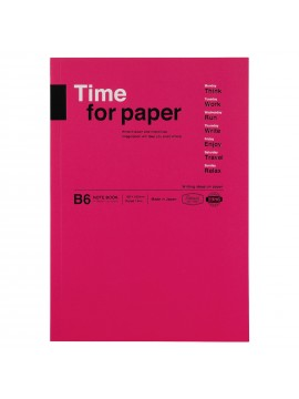 Notebook Flexible B6 Pink - Time for paper