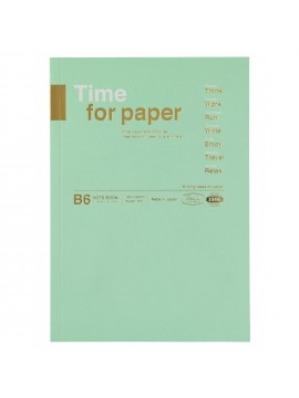 Notebook Flexible B6 Mint - Time for paper