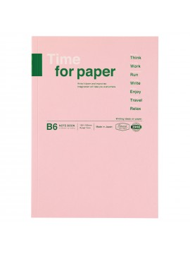 Notebook Flexible B6 Light Pink - Time for paper