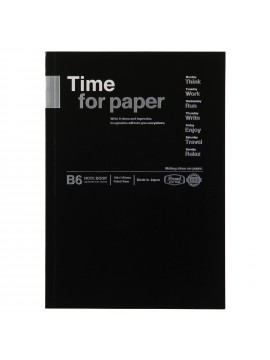 Notebook Flexible B6 Black - Time for paper