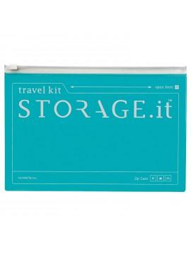 Zip Case Turquoise - STORAGE.IT