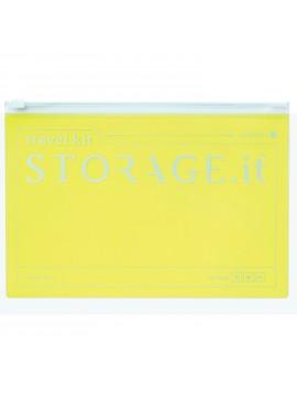 Zip Case Neon Yellow - STORAGE.IT