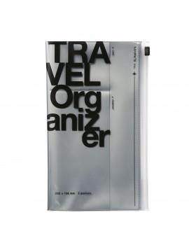 Travel Organizer Silver - Travel kit