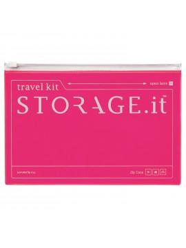 Zip Case Neon Pink - STORAGE.IT