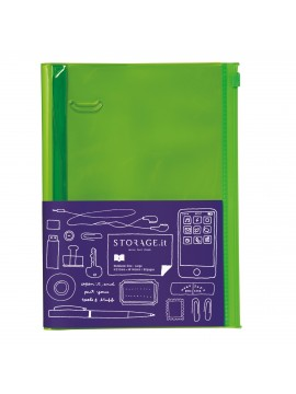 Notebook Solid Green L - STORAGE.IT