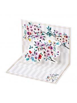 Message card, PAUL & JOE  // Stripe Bouquet