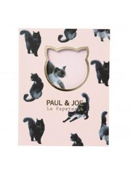 Sticky notes set Stripe Suiboku Cat - PAUL & JOE
