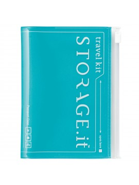 Passport Case Turquoise - STORAGE.IT