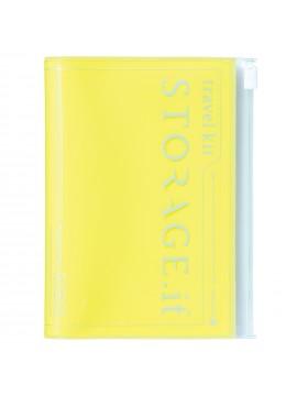 Passport Case Neon Yellow - STORAGE.IT