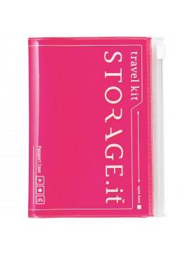 Passport Case Neon Pink - STORAGE.IT