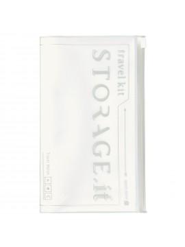 Travel Wallet White - STORAGE.IT
