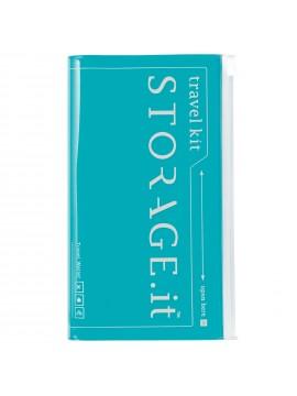 Travel Wallet Turquoise - STORAGE.IT