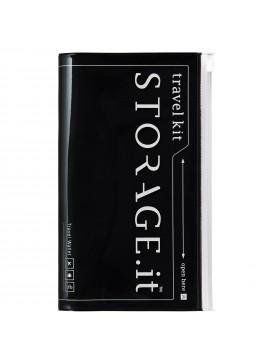 Travel Wallet Black - STORAGE.IT