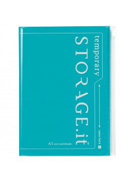 Notebook Turquoise A5 - STORAGE.IT
