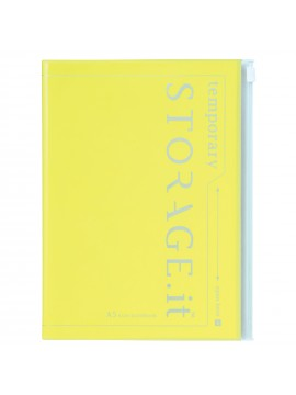 Notebook Neon Yellow A5 - STORAGE.IT