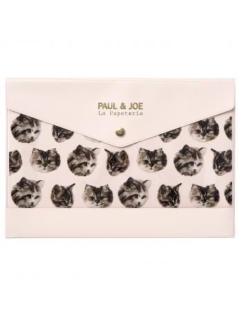Stationery case A5 Cat Cat Cat - PAUL & JOE