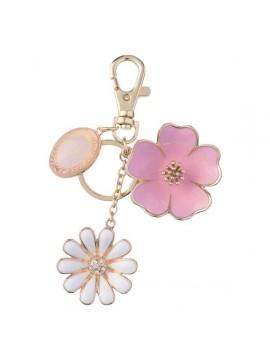 Key Holder Bouquet de Fleurs Rose - Les Secrets by Ladurée