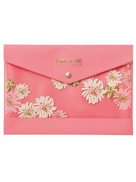 Stationery case  A5 Chrysanthemum Blossom Pink - PAUL & JOE