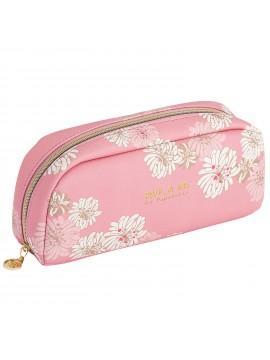 Pen case M Chrysanthemum Blossom Pink - PAUL & JOE