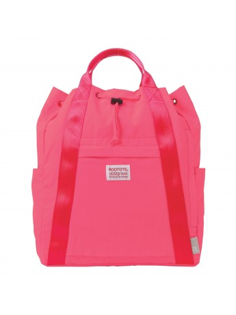 Convertible Backpack / Tote Bag Pink Ceoroo Tall - ROOTOTE
