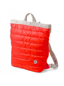 Convertible Backpack  / Tote Bag Quilted Red Ceoroo Tall - ROOTOTE