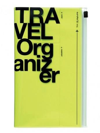 Travel Organizer Neon Yellow - Travel kit