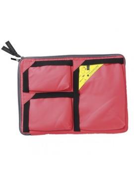Bag in Bag L CORAL RED - TOKAKURE