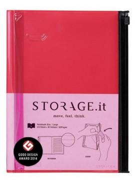 Notebook L Red - STORAGE.it