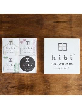 Gift Box of 3 small boxes of incense - hibi