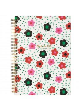 Spiral notebook A5 Daisy In The Field - PAUL & JOE