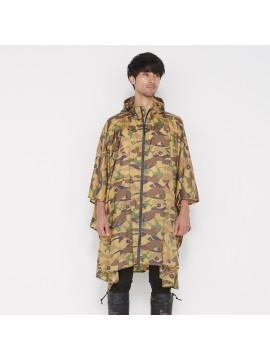 Rain Poncho Unisex Camouflage - KIU