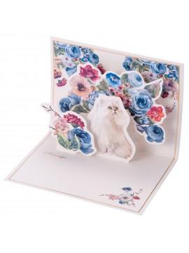 Message Card Gipsy Bouquet - PAUL & JOE