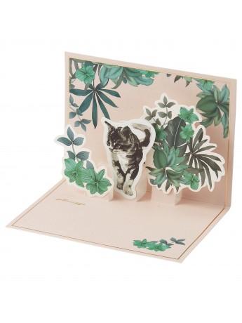 Message Card Pop up Cat Cat Cat - PAUL & JOE