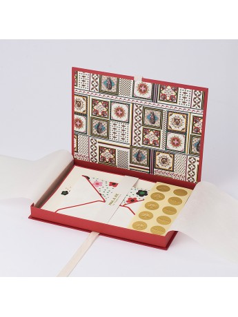 Letter set Puzzle Patchwork & Daisy In The Field - PAUL & JOE
