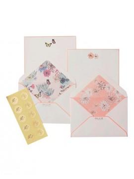 Letter set, PAUL & JOE // Pink