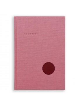 Hardcover Notebook Journal Rose - Kartotek Copenhagen