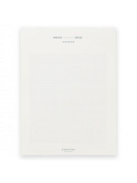 Notepad Memo pad Grid - Kartotek Copenhagen