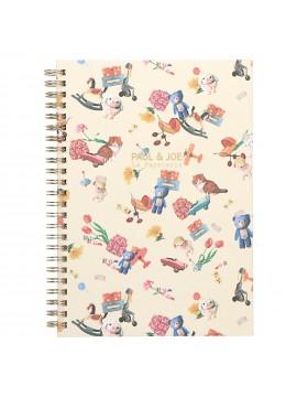 Spiral Notebook A5 Toys Toys Toys - PAUL & JOE La Papeterie