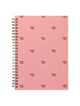 Spiral Notebook A5 Nounette Polka Dots Rose -  PAUL & JOE La Papeterie